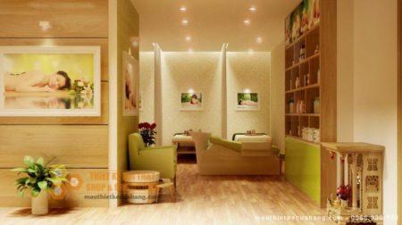Thiết kế nội thất Spa hiện đại 100m2 tại Hà Nội