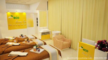 Thiết kế nội thất cửa hàng Spa làm đẹp 30m2 tại Hà Nội nổi bật và sang trọng