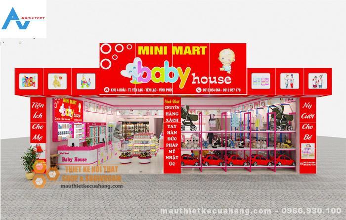 thiet-ke-shop-thoi-trang-me-be-a1-mauthietkecuahang.com