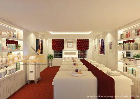 Thiết kế nội thất Spa 50m2 tại Quảng Ninh đẹp tinh tế và sang trọng