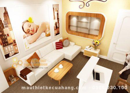 Mẫu nội thất spa 50m2 ở Hà Nội kinh doanh HIỆU QUẢ