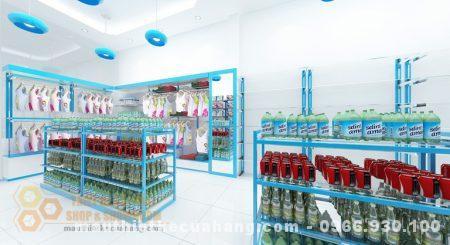 Thiết kế cửa hàng mẹ và bé 40m2 tại Hà Nam hiện đại và lôi cuốn