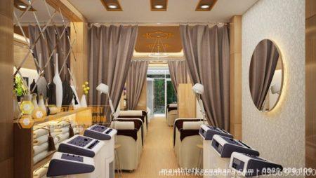 Thiết kế spa Trang Trang tại Nam Định 100m2 ĐẸP và Độc Đáo