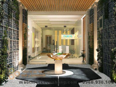 Thiết kế nội thất Spa chăm sóc sức khỏe 75m2 ở Hà Nội