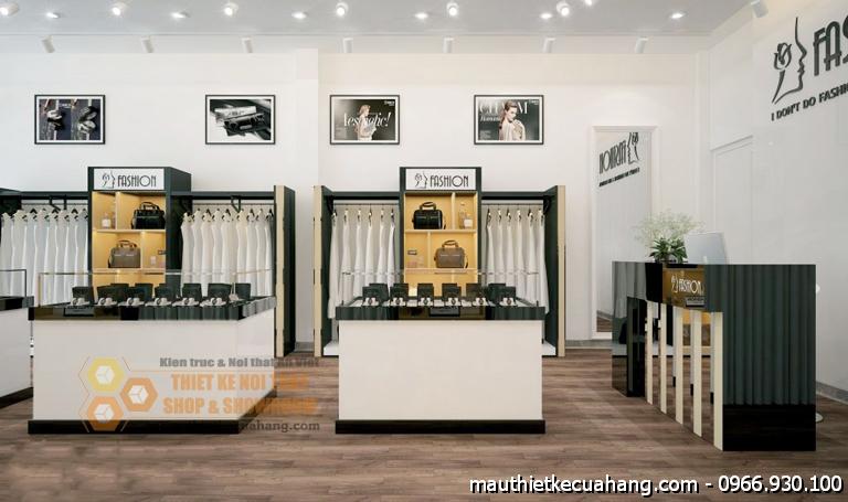 Mẫu cửa hàng thời trang quần áo nữ 40m2 Fashion tại Đà Nẵng
