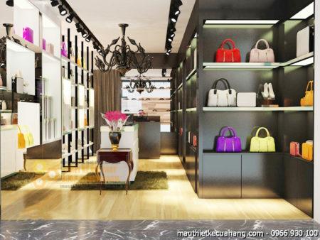 Mẫu shop thời trang nữ mini 20m2 tại Hà Nội