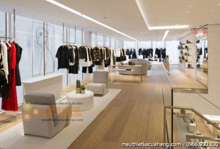 Thiết kế showroom thời trang quần áo nữ 120m2 Chị Loan