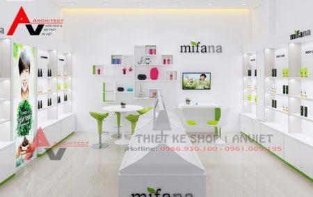 Thiết kế shop mỹ phẩm đẹp KHÔNG THỂ BỎ QUA tại Hà Nội