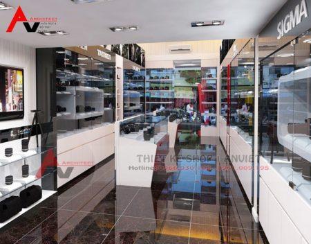 Thiết kế showroom điện máy DIGI World tại Hà Nội
