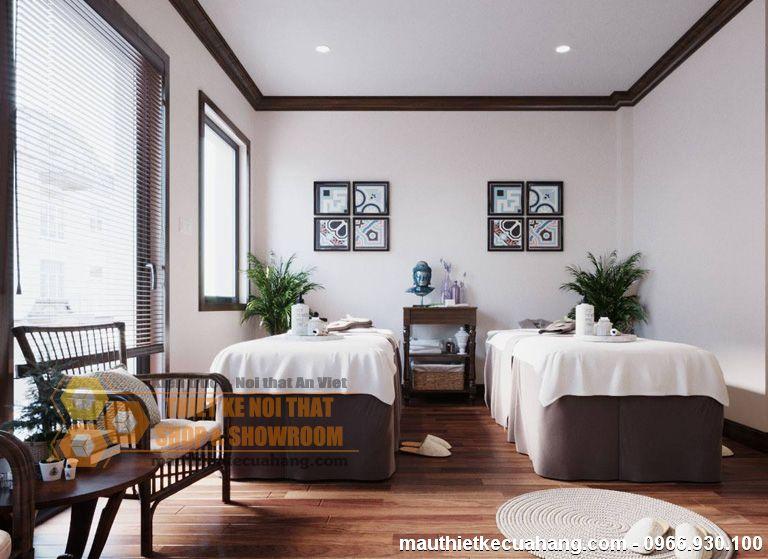 Thiết kế spa đẹp mẫu SPA chuyên nghiệp tại Hà Nội