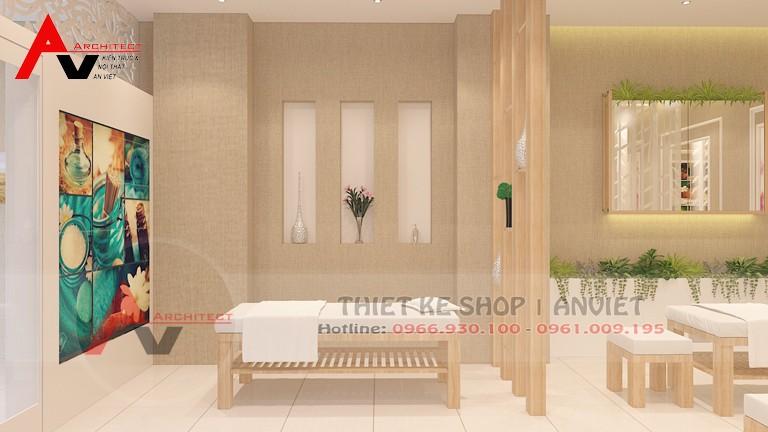 Trang trí phòng chăm sóc da spa tại nhà đẹp