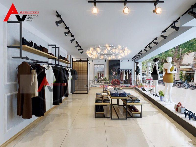 Mách bạn cách trang trí shop quần áo nữ nhỏ 35m2 HIỆU QUẢ