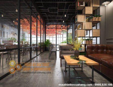Mẫu thiết kế quán Time Coffe 120m2 đẹp KHÔNG THỂ BỎ QUA