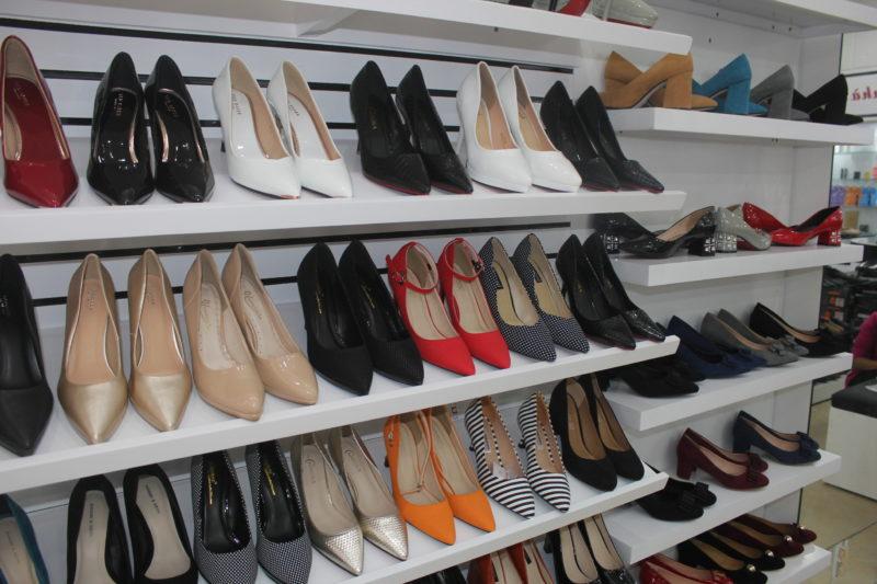 Ảnh phương án thiết kế shop giày dép tại hà nội