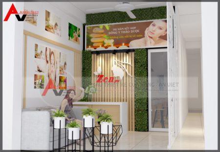 Thiết kế spa làm đẹp diện tích 40m2 tại Hà Nội giá rẻ tiết kiệm