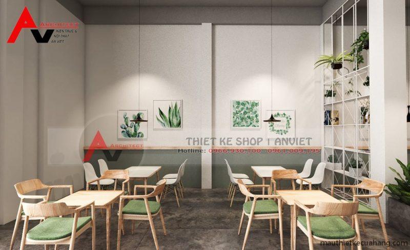Cách trang trí quán trà sữa đẹp hút khách tới nườm nượp ở Hà Nội