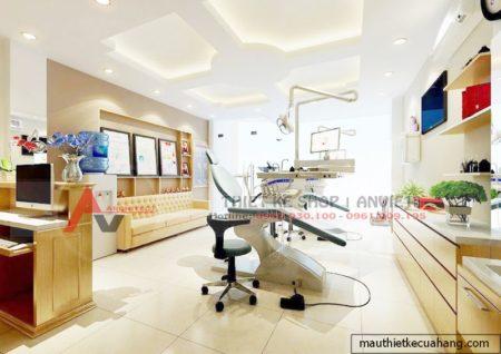 Mẫu thiết kế phòng khám nha khoa thẩm mỹ 30m2 ở Thanh Xuân HN