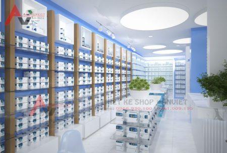 Thiết kế hiệu thuốc tây chuẩn GPP 200m2 ở Thanh Hóa