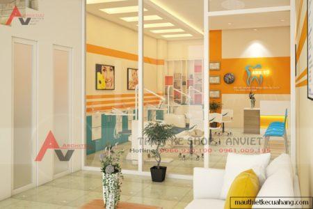 Thiết kế nội thất phòng khám Nha Khoa 30m2 tại Hà Nam