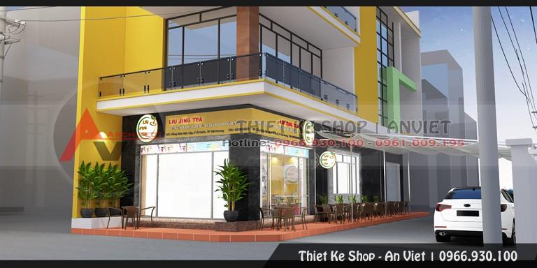 Thiết kế quán Cafe đẹp thu hút khách 200m2 tại Hải Dương