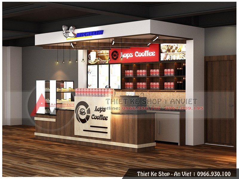 Thiết kế thi công quầy bar, mẫu quầy bar đẹp tại Long Biên