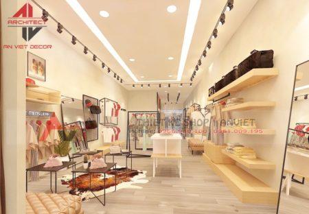 Mẫu thiết kế shop quần áo 150m2 ĐƠN GIẢN MÀ BẮT MẮT