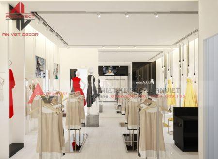 Thiết kế cửa hàng thời trang CHUYÊN NGHIỆP 50m2 ở Nam Định