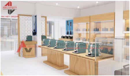 Thiết kế showroom trưng bày Thiết Bị Đo Lường 60m2 ở HN
