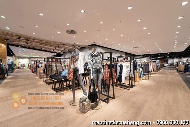 Vài điều CẦN CHÚ Ý trong mẫu thiết kế shop bán quần áo