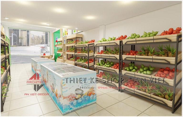 Mẫu shop thời trang nữ trong TTTM 40m2 ĐƠN GIẢN HIỆU QUẢ