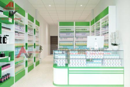 Thiết kế nhà thuốc, thi công nhà thuốc GPP 20m2 tại Nghệ An