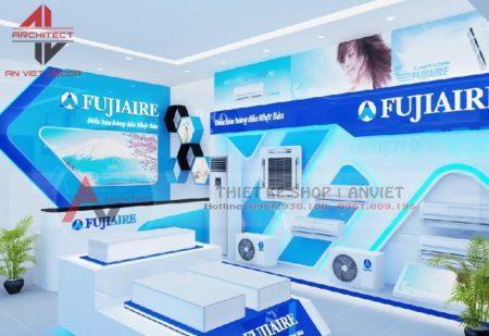 Thiết kế nội thất showroom điện máy 140m2 tại Bắc Giang