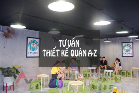 Thiết kế quán trà chanh NHỎ ĐẸP hút khách – Thi Công Nội Thất