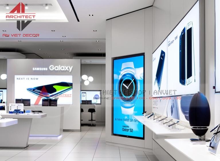 10+ mẫu thiết kế siêu thị ĐIỆN MÁY - ANVIET