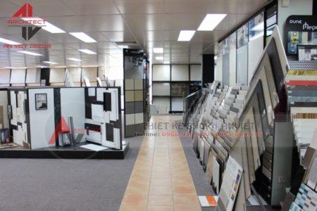 [HOT] 10+ mẫu thiết kế showroom vlxd thiết bị vệ sinh