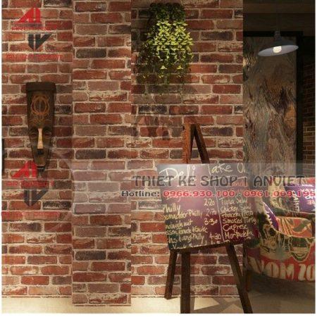 Một vài tip trang trí cửa hàng bằng giấy dán tường