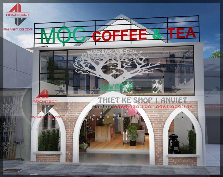 thiết kế quán cà phê đẹp tại hưng yên