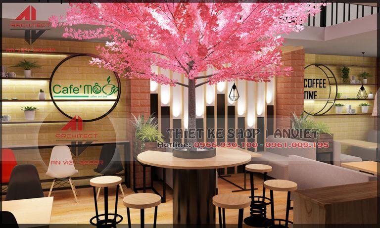 trang trí quán cà phê độc đáo tại hưng yên
