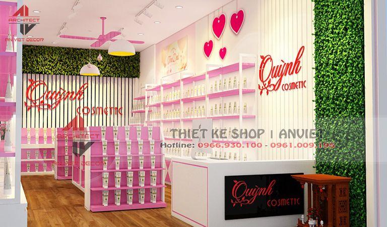 thiết kế cửa hàng thời trang tại trâu quỳ