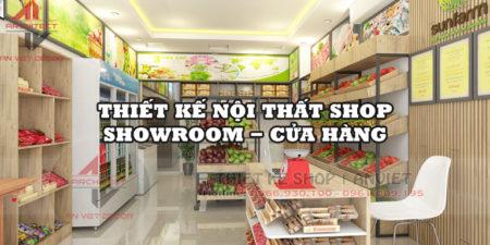 Các kệ trưng bày hoa quả đẹp mắt dành cho shop thực phẩm sạch