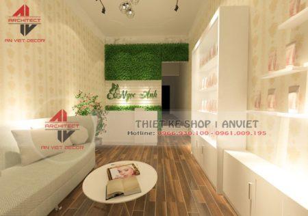 Thiết kế Spa diện tích 40m2 cực sang trọng tại Hà Nội