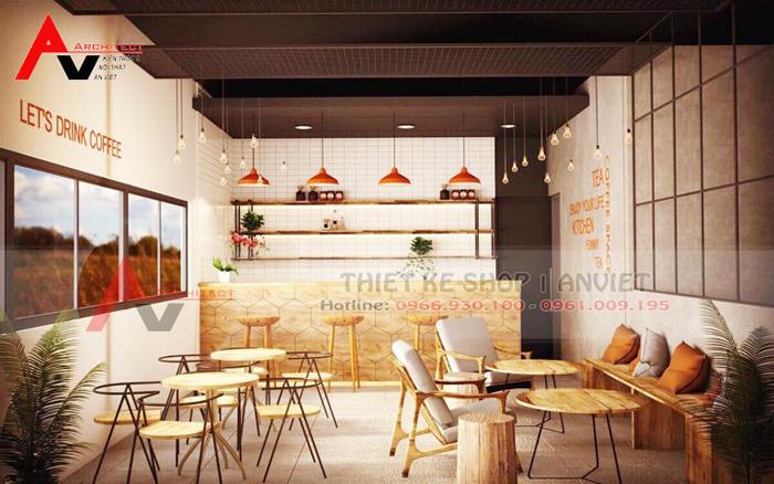 trang trí quán coffee độc đáo diện tích nhỏ