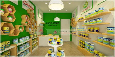 Thiết kế shop thực phẩm chức năng 20m2 tại Hoàng Văn Thái
