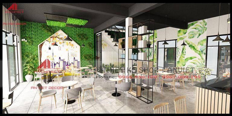 mẫu thiết kế quán cà phê đẹp tại Ninh Bình