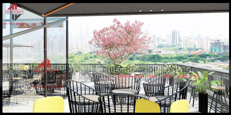 Thiết kế quán cà phê độc đáo tại Ninh Bình