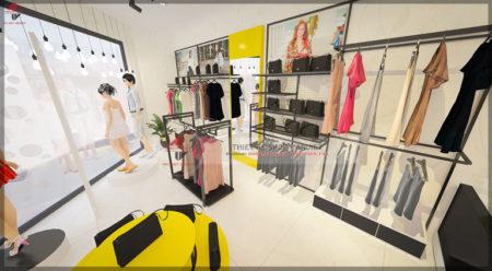 Thiết kế shop thời trang 25m2 Siêu ĐỘC ĐÁO tại Gia Lâm