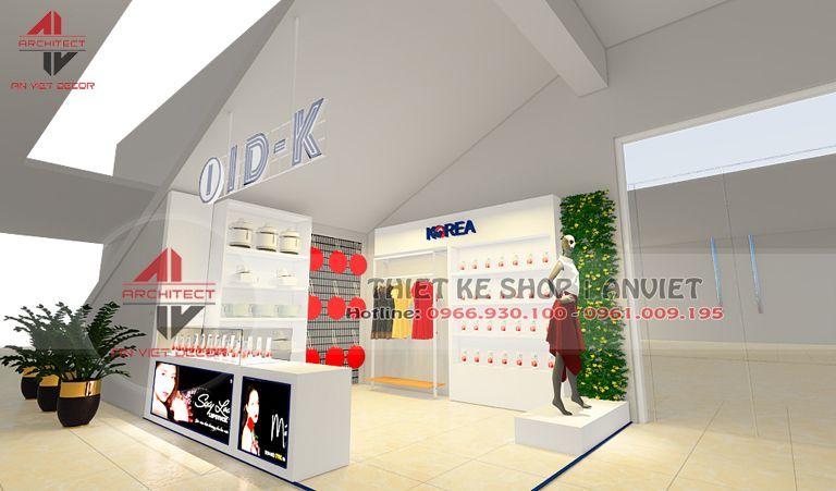 Thiết kế siêu thị mini 20m2 vô cùng HIỆN ĐẠI tại Giảng Võ