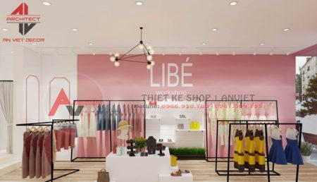 Thiết kế shop thời trang 50m2 tại Nam Từ Liêm – Hà Nội