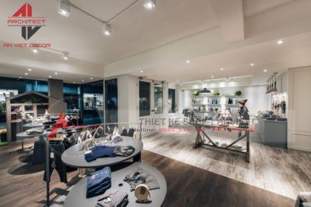 Thiết kế shop THỜI TRANG TRẺ EM 100m2 tại Ninh Bình