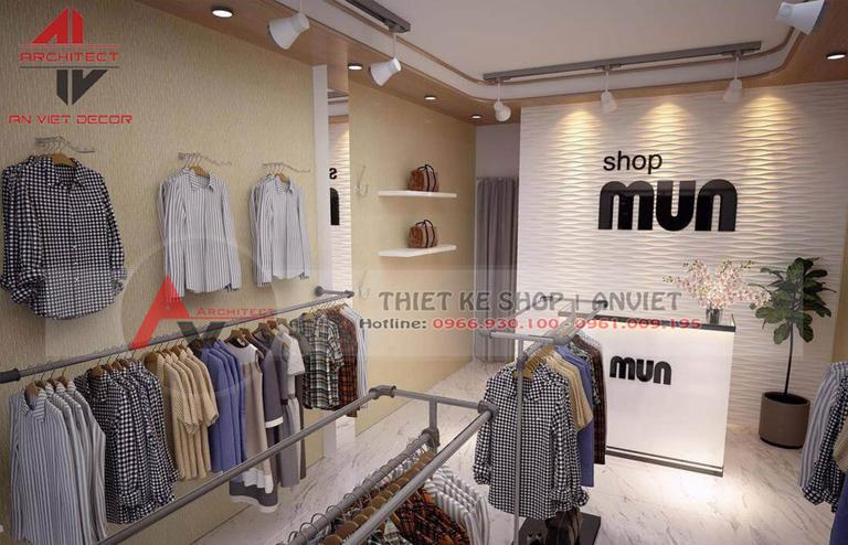 Thiết kế trọn gói shop thời trang